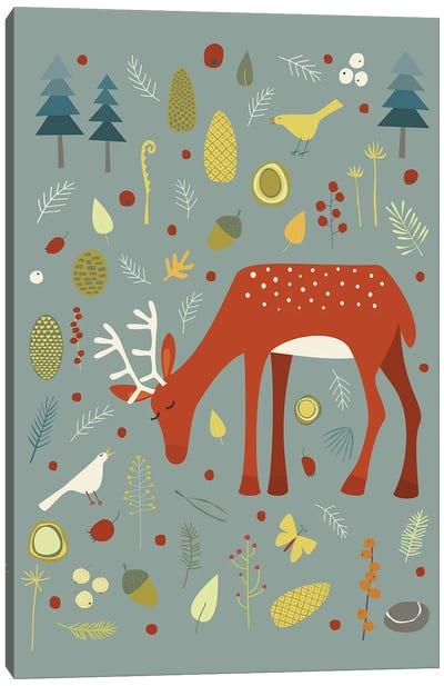 Hello Deer! Canvas Art Print