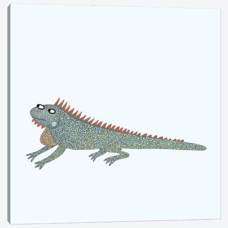 Iguana Canvas Print #NSQ36} by Nic Squirrell Canvas Art