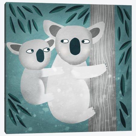 Koala Canvas Print #NSQ41} by Nic Squirrell Canvas Art