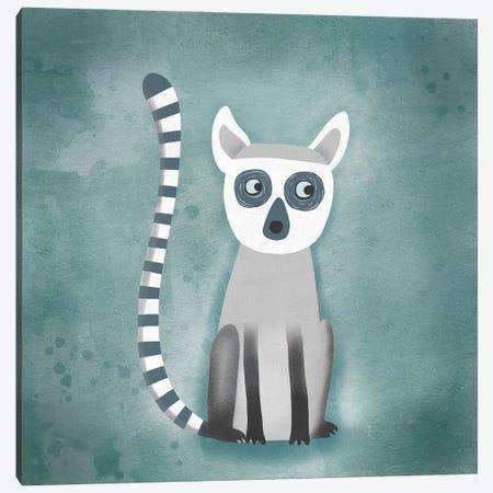Lemur Canvas Print #NSQ43} by Nic Squirrell Canvas Art