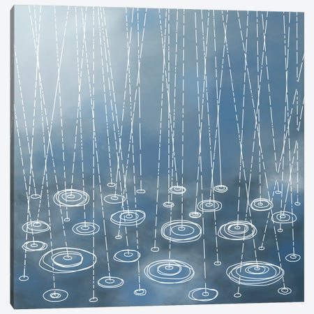 Another Rainy Day Canvas Print #NSQ4} by Nic Squirrell Canvas Wall Art