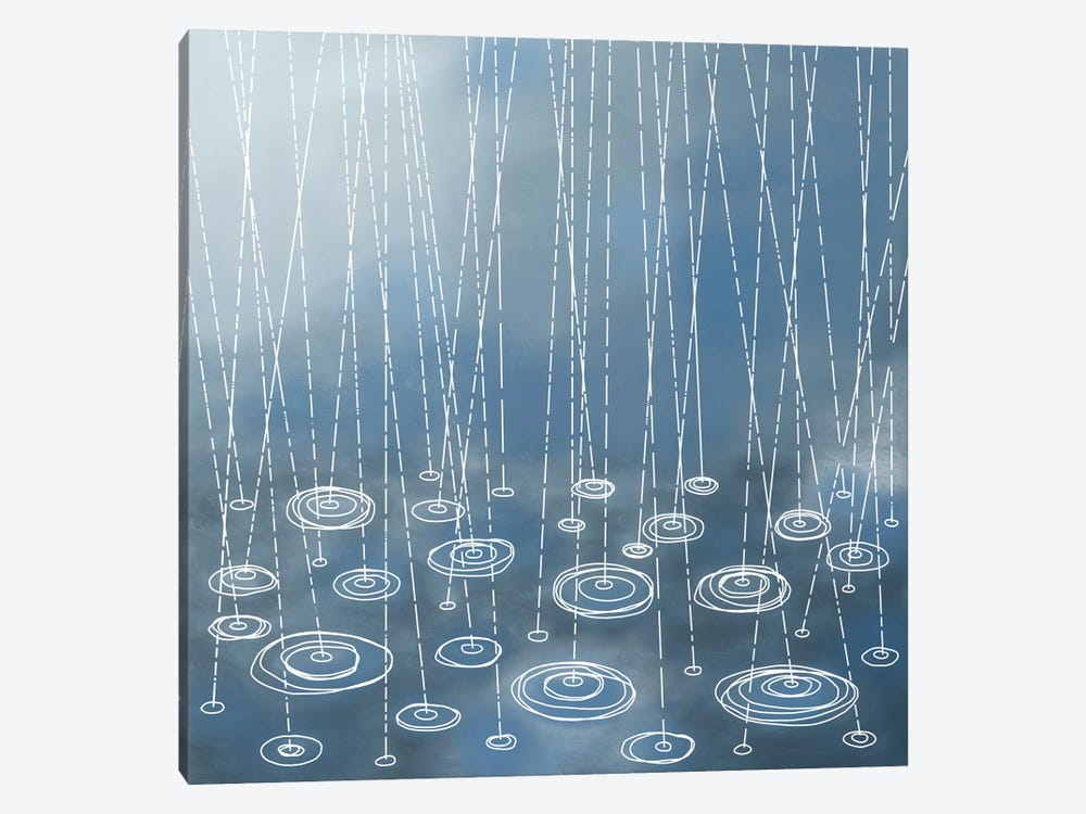 Another Rainy Day by Nic Squirrell 1-piece Canvas Art