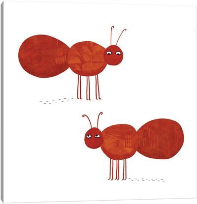 Ants Canvas Art Print