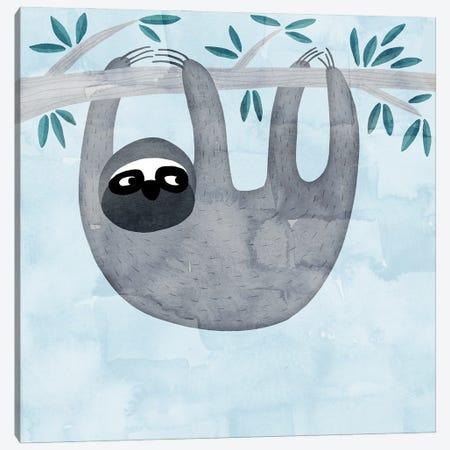 Sloth Canvas Print #NSQ66} by Nic Squirrell Canvas Art Print