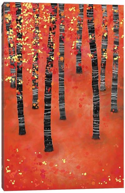 Birches Canvas Art Print