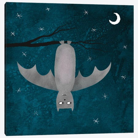 Bat Canvas Print #NSQ91} by Nic Squirrell Canvas Print