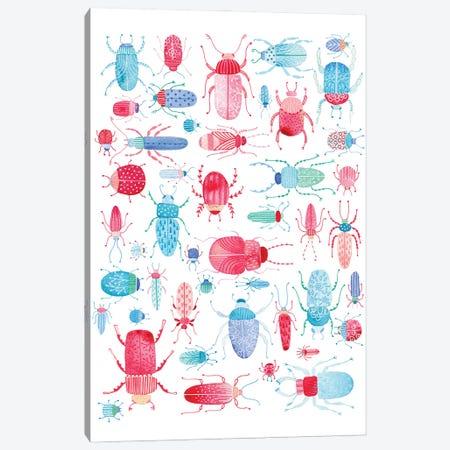 Beetles Canvas Print #NSQ94} by Nic Squirrell Canvas Art