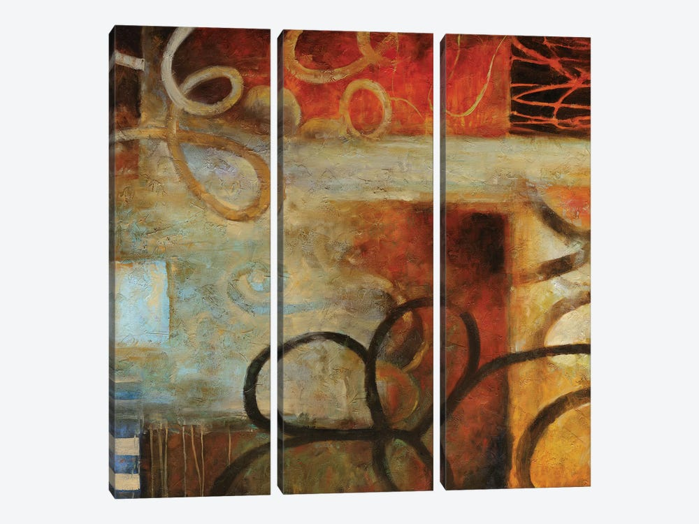 Turning Point I by Nick Stevens 3-piece Canvas Wall Art