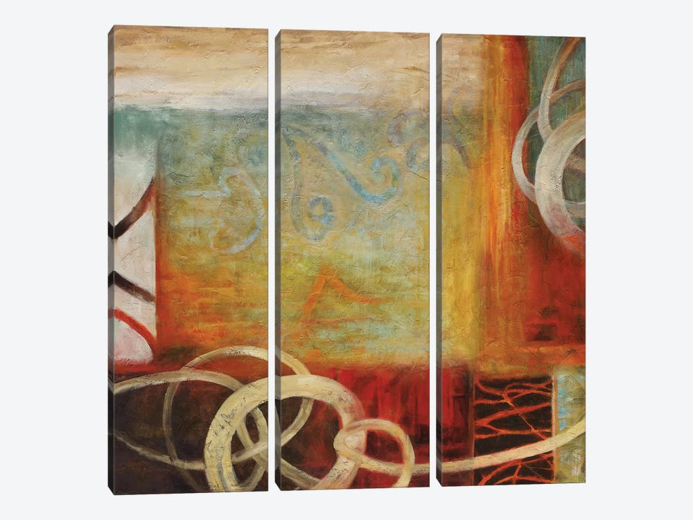Turning Point II by Nick Stevens 3-piece Canvas Print
