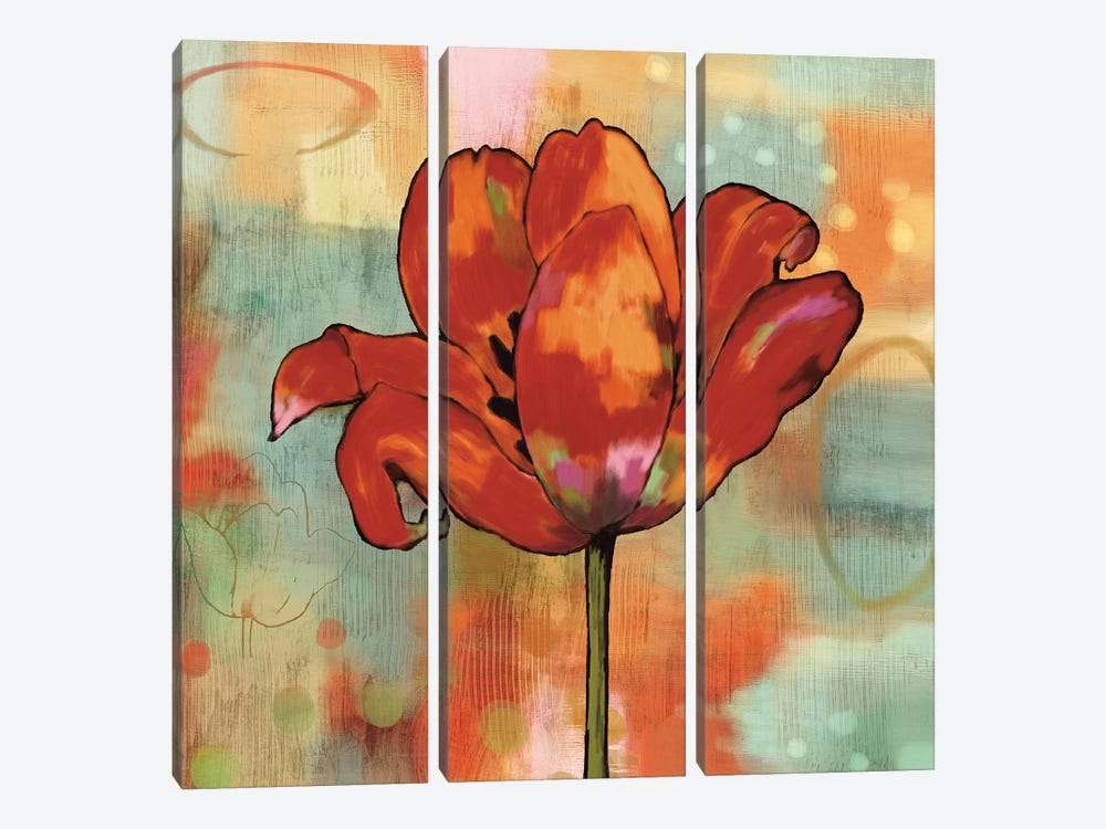 Fanciful I by Nicole Sutton 3-piece Canvas Print