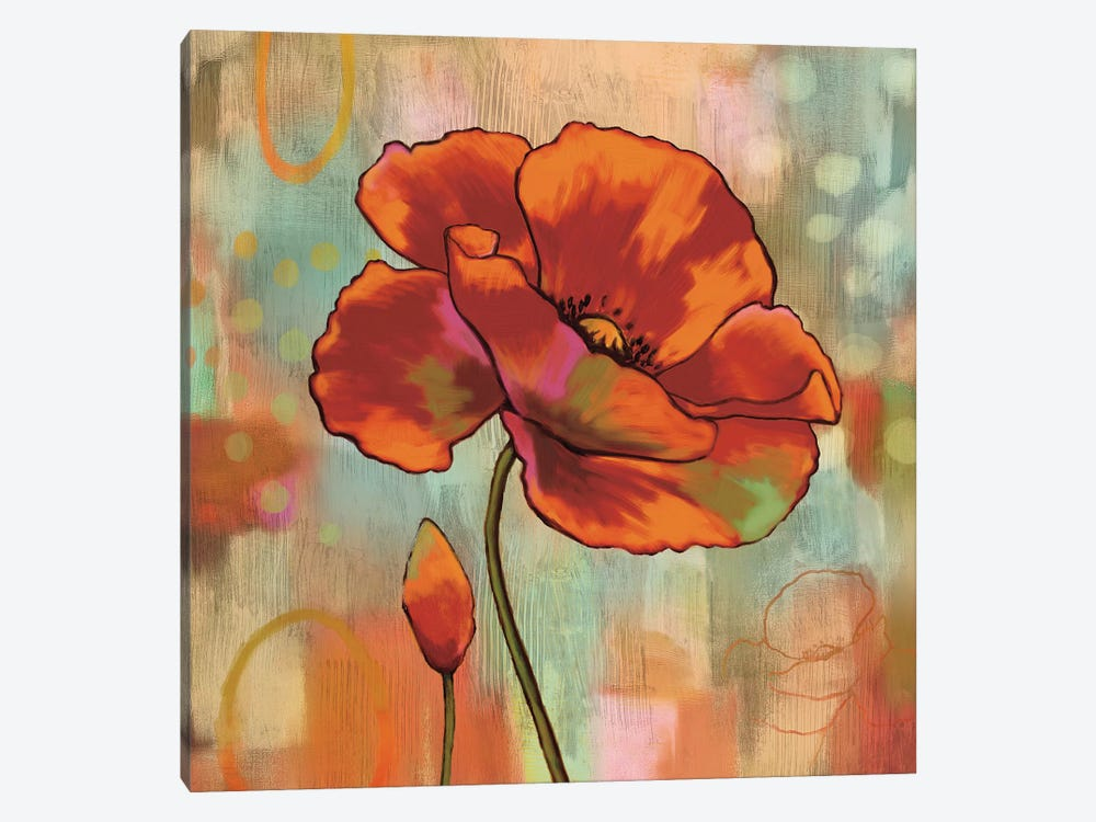 Fanciful II by Nicole Sutton 1-piece Canvas Wall Art