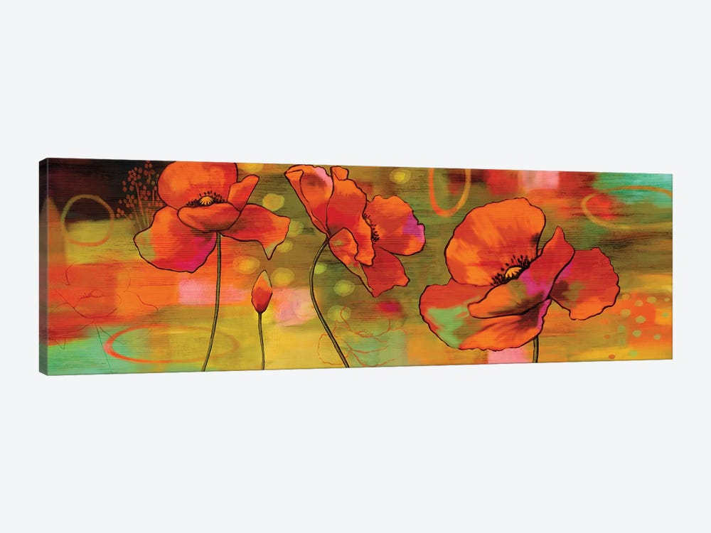 Magical Poppies by Nicole Sutton 1-piece Canvas Print