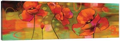 Magical Poppies Canvas Art Print