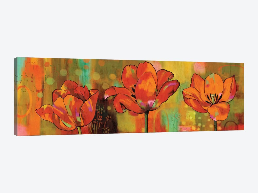 Magical Tulips by Nicole Sutton 1-piece Canvas Artwork