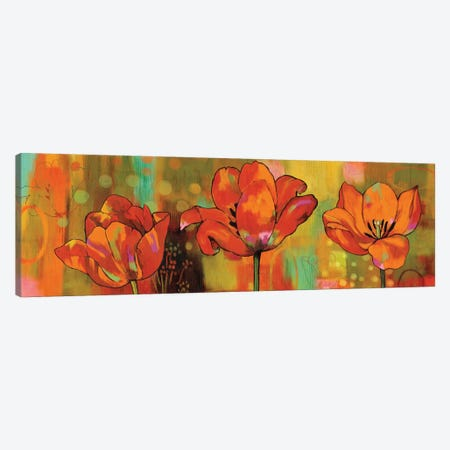 Magical Tulips Canvas Print #NSU4} by Nicole Sutton Canvas Artwork