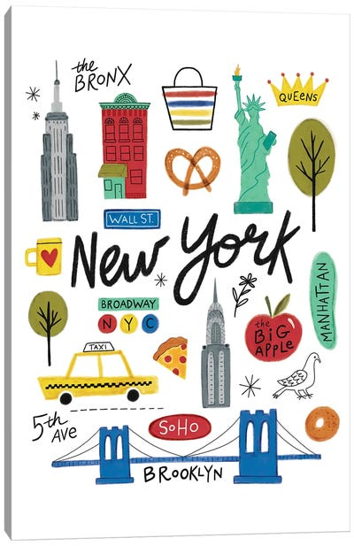 City Love I Canvas Art Print