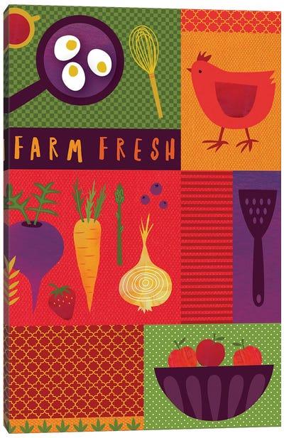 Market Fresh I Canvas Art Print