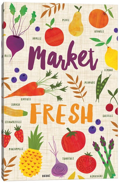 Market Fresh II Canvas Art Print