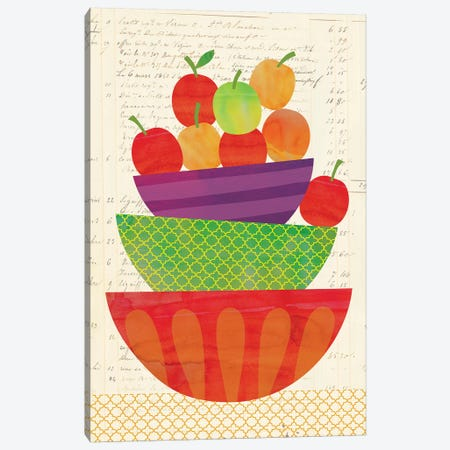 Market Fresh IV Canvas Print #NSV4} by Nina Seven Art Print