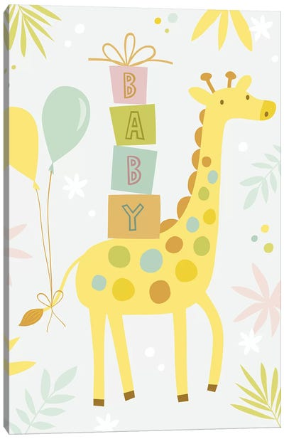 Baby Soft Safari II Canvas Art Print