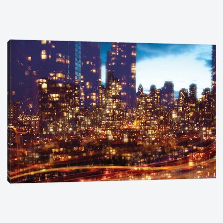 Cityscape07 Canvas Print #NSX2} by Norm Stelfox Canvas Wall Art