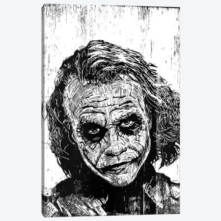 The Joker Canvas Print #NSY13} by Neil Shigley Canvas Print