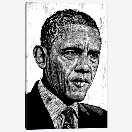 Obama Canvas Print #NSY26} by Neil Shigley Canvas Print