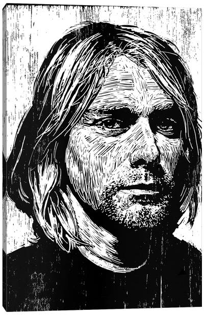 Cobain Canvas Art Print