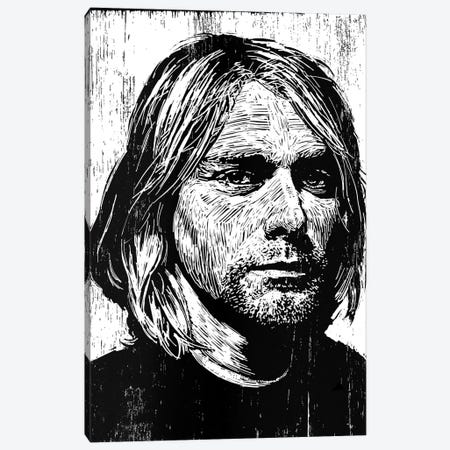 Cobain 3-Piece Canvas #NSY3} by Neil Shigley Canvas Print
