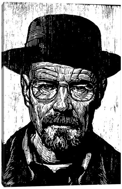 Heisenberg Canvas Art Print