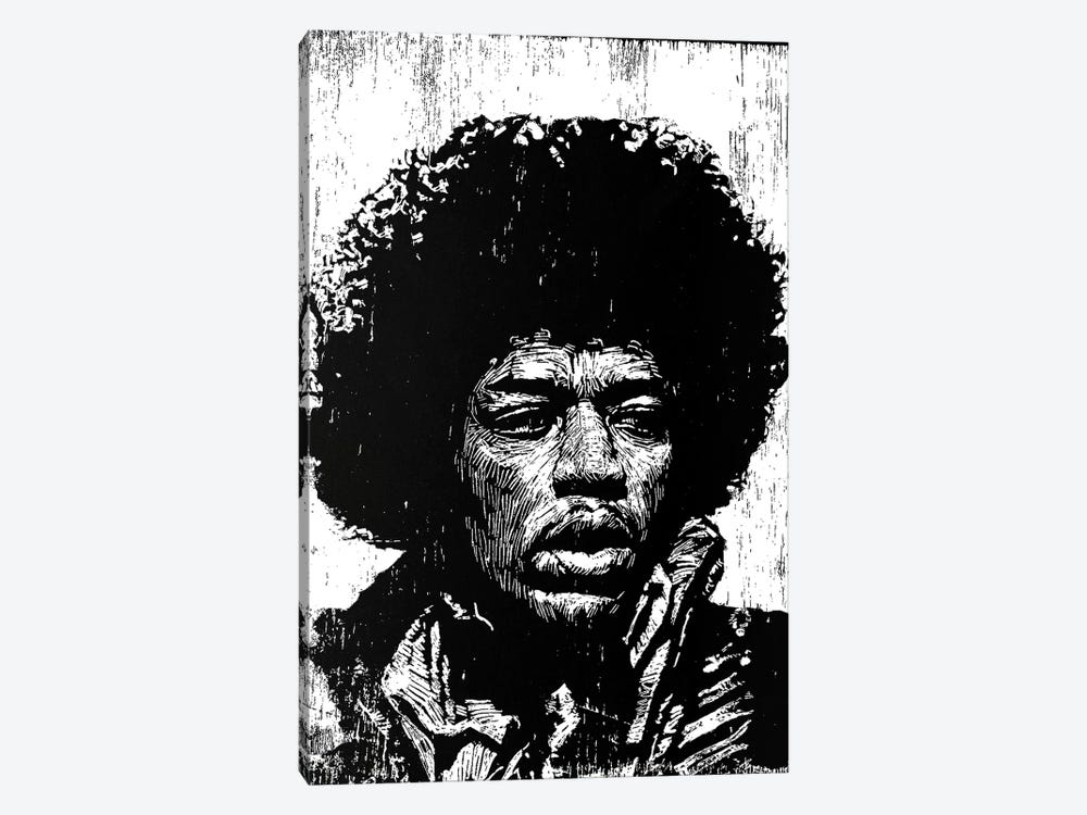 Hendrix by Neil Shigley 1-piece Canvas Print
