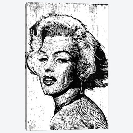 Marilyn Canvas Print #NSY9} by Neil Shigley Canvas Print