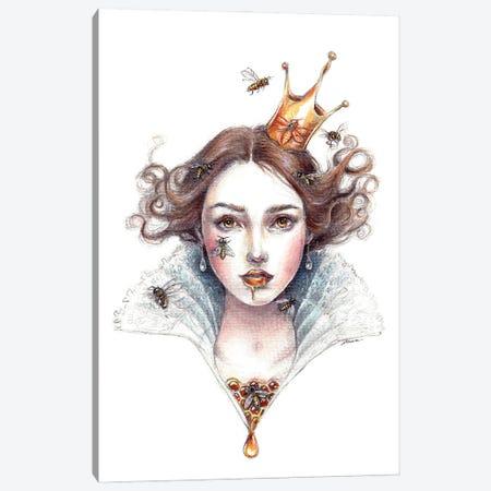 Queen Bee Canvas Print #NTC13} by Natacha Chohra Canvas Art
