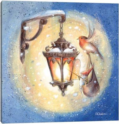 The Lamplighter Canvas Art Print