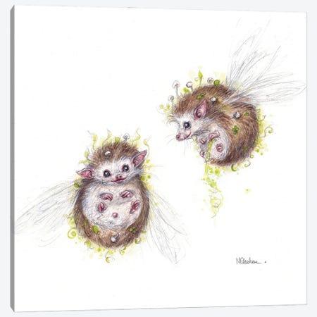 Thistlehogs Canvas Print #NTC2} by Natacha Chohra Art Print