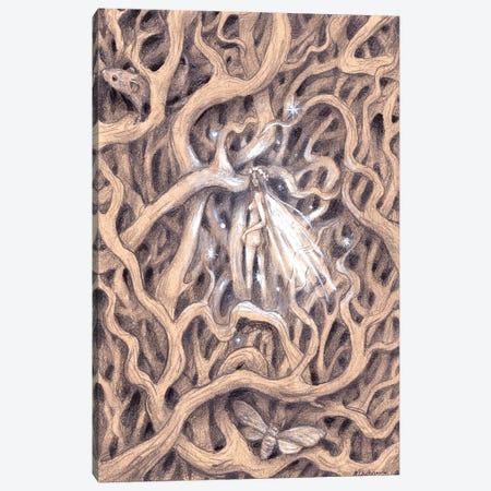 Lili Of The Undergrowth Canvas Print #NTC31} by Natacha Chohra Canvas Artwork