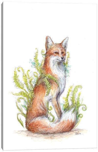 Bracken Fox Canvas Art Print