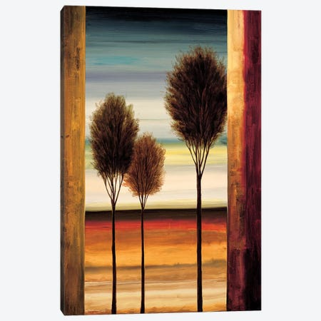 On The Horizon II Canvas Print #NTH10} by Neil Thomas Art Print