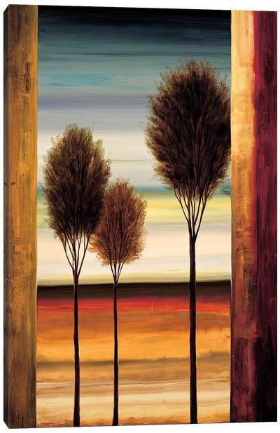 On The Horizon II Canvas Art Print