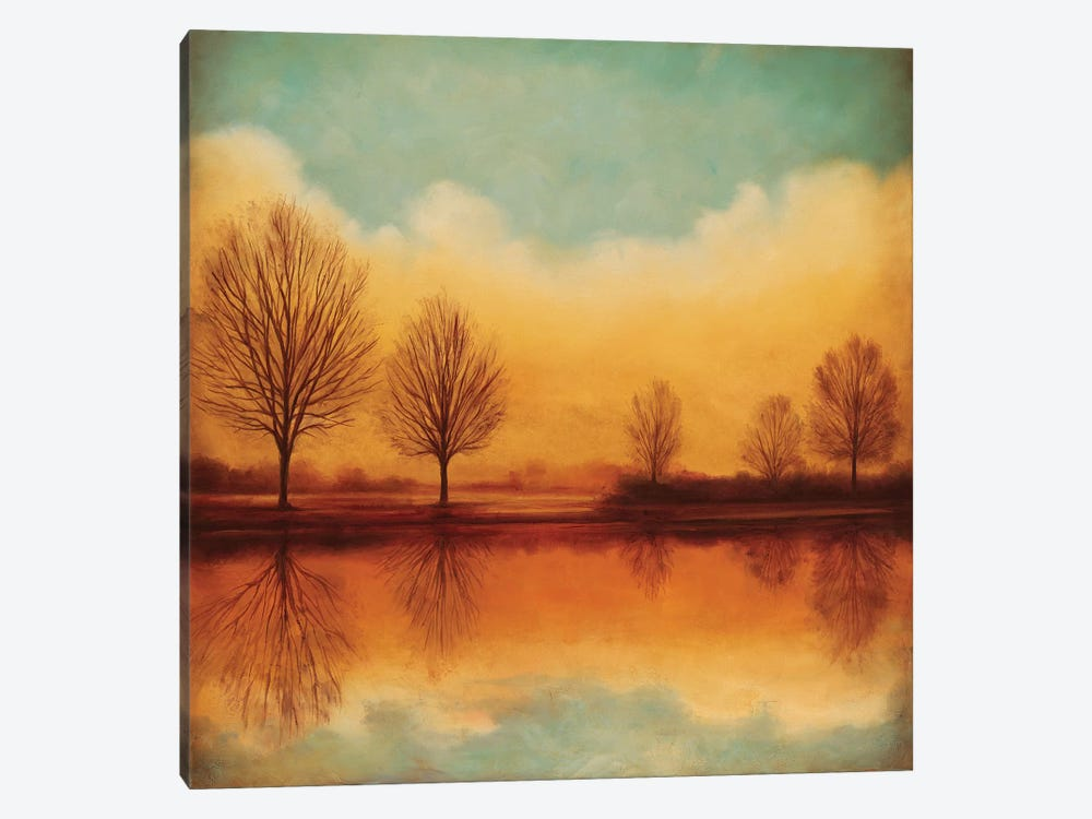 Reflections Of Autumn I by Neil Thomas 1-piece Canvas Art