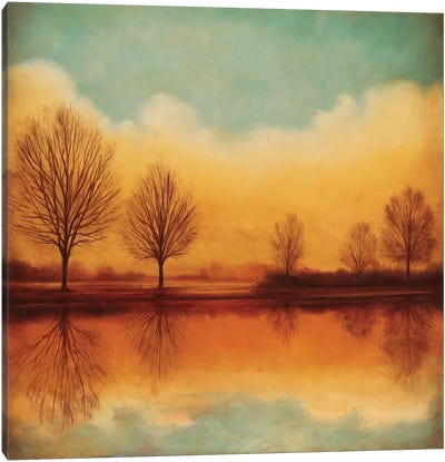 Reflections Of Autumn I Canvas Art Print