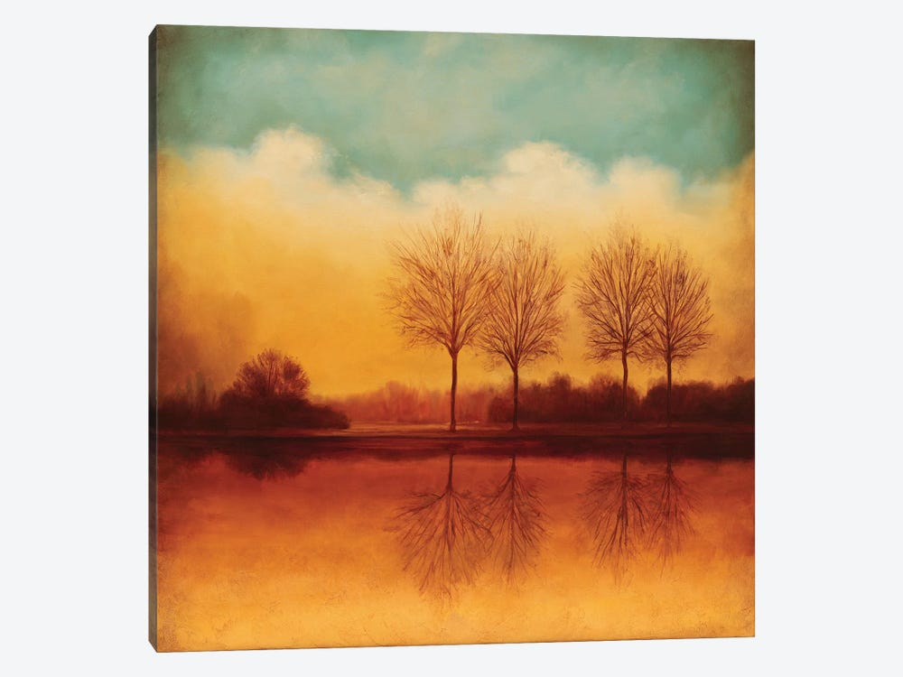 Reflections Of Autumn II by Neil Thomas 1-piece Canvas Print