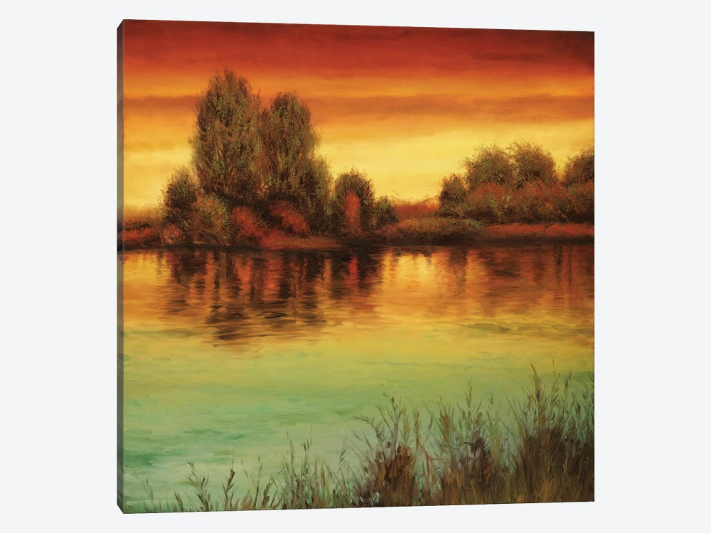River Sunset II by Neil Thomas 1-piece Art Print