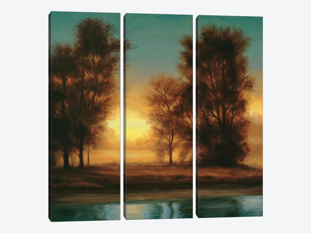 Twilight I by Neil Thomas 3-piece Canvas Print