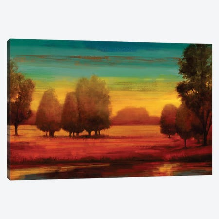 Radiant 3-Piece Canvas #NTH28} by Neil Thomas Canvas Art