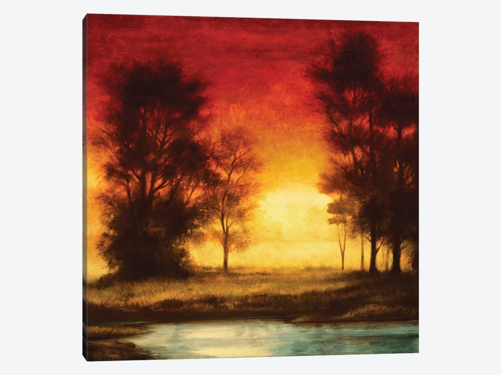 Evening Light II by Neil Thomas 1-piece Canvas Artwork