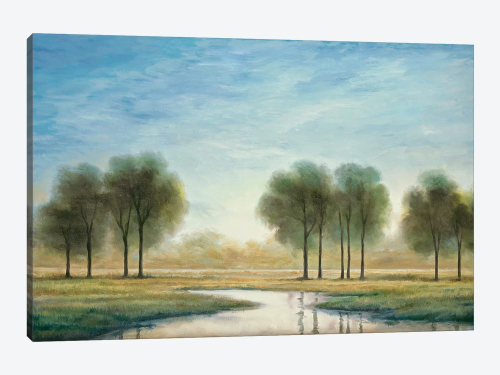 Morning Reflection I by Neil Thomas 1-piece Canvas Print
