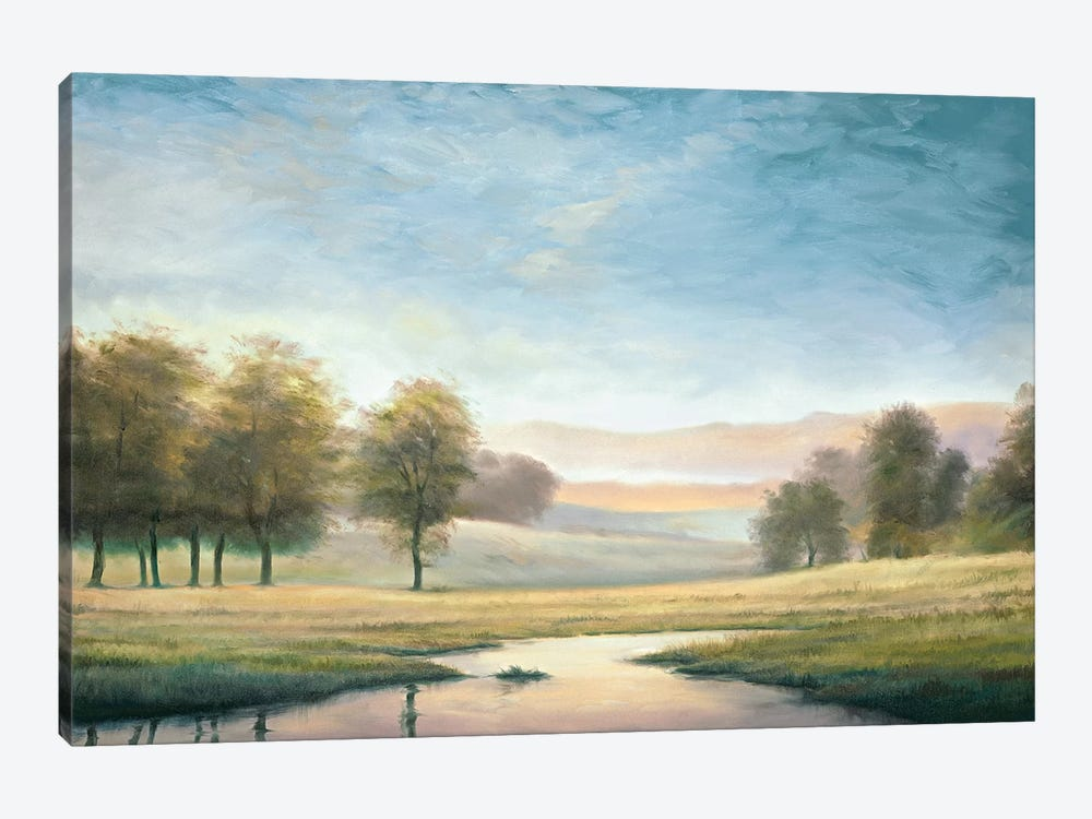 Morning Reflection II by Neil Thomas 1-piece Canvas Artwork