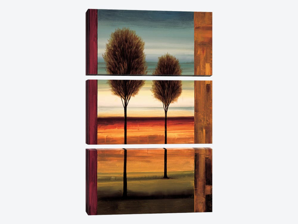 On The Horizon I by Neil Thomas 3-piece Canvas Art Print