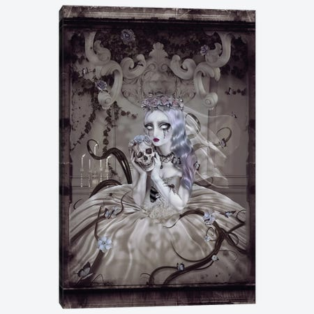 Corpse Bride Canvas Print #NTL10} by Natalie Shau Canvas Print